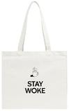 Stay Woke Tote Bag Tote Bag