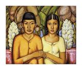 Casamiento Indio Premium Giclee Print by Alfredo Ramos Martinez