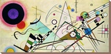 Composition VIII (detail) Stretched Canvas Print by Wassily Kandinsky