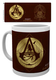 Assassins Creed - Origins Gold icons Tazza