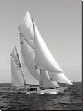 Classic sailboat Stretched Canvas Print by  Anonymous