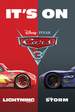 Cars 3 - It'S On Poster