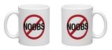 No Noobs Video Game Mug Mug