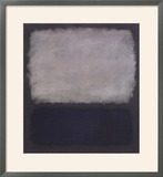 Blue & Gray, 1961 Posters by Mark Rothko