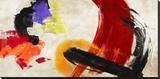 Ka-Boom Stretched Canvas Print by Chaz Olin