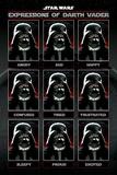 Star Wars - Expressions Of Darth Vader Fotografía