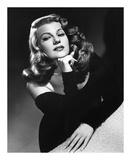Rita Hayworth 'Gilda' 1946 Art by  Hollywood Historic Photos