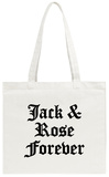 Jack and Rose Tote Bag Tote Bag