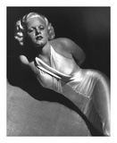 Jean Harlow 1931 Art by  Hollywood Historic Photos