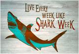 Shark Week Every Week Poster