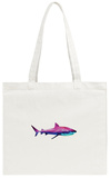 Nebula Alien Shark Tote Bag Tote Bag