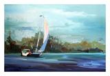 Sailboat Prints by Carol Hallock