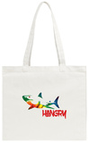 Hangry Shark Tote Bag Tote Bag