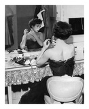 Elizabeth Taylor 1951 behind the Scenes 'A Place in the Sun' Prints by  Hollywood Historic Photos