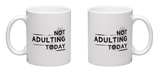 Not Adulting Mug Mug