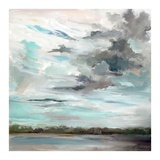 Cloudy Days Don't Get Me Down Print by Carol Hallock