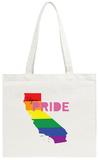 LGBT Pride California Pink Tote Bag Tote Bag
