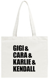 2010s Supermodels Tote Bag Tote Bag