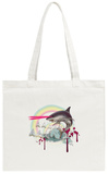Majestic Laser Shark Tote Bag Tote Bag