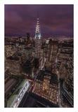 Chrysler Nights Print by Bruce Getty