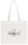 Shark Anatomy Diagram Tote Bag Tote Bag