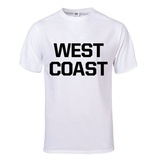 West Coast T-Shirt (White) T-Shirt
