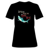Womens: Shark Week Every Week T-Shirt (Black) T-Shirt
