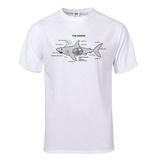 Shark Anatomy Diagram T-Shirt T-shirts