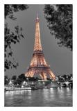 Nuit sur la Seine Posters by Alan Blaustein