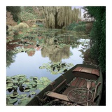 Giverny Boat 1 Prints by Alan Blaustein