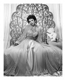 Elizabeth Taylor 1951 Glamour Shoot Posters by  Hollywood Historic Photos