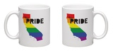 Gay Pride California Mug Mug