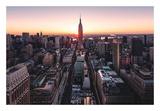 Empire Sunburst Sunrise Lámina por Bruce Getty