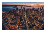 Morning Look Down San Francisco Art by Bruce Getty