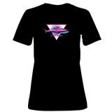 Womens: Alien Shark T-Shirt T-Shirt