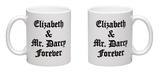 Elizabeth and Mr. Darcy Mug Mug