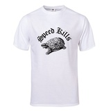 Speed Kills T-Shirt (White) Shirt