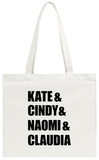 90s Supermodels Tote Bag Tote Bag
