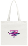 Alien Shark Tote Bag Tote Bag