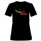 Womens: Hangry Shark T-Shirt Shirts