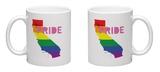 LGBT Pride California Pink Mug Mug
