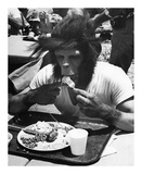 Even Apes Need a Break Prints by  Hollywood Historic Photos