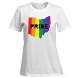 Womens: LGBT Pride Ohio T-Shirt T-shirts