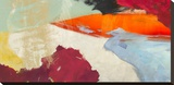 Sha-Zaam Stretched Canvas Print by Chaz Olin