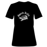 Womens: Speed Kills T-Shirt (Black) Shirts