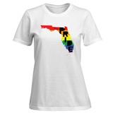 Womens: LGBT Pride - Florida T-Shirt Shirt
