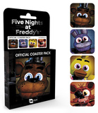 Five Nights at Freddy's - Characters Coaster Set Sottobicchiere
