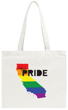 Gay Pride California Tote Bag Tote Bag