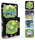 Rick & Morty - Mix Coaster Set Lasinaluset