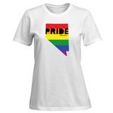 Womens: LGBT Pride - Nevada T-Shirt T-Shirt